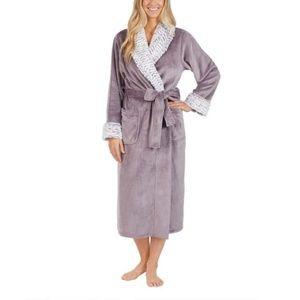 Carole Hochman Ladies Plush Wrap Robe Ultra Soft